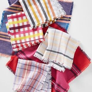 Anthropologie NWT DiSHcloths Pack of 6 SolD Out